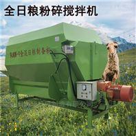 稻草饲料混合TMR搅拌机