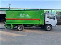 机械化养殖优势-大型饲料撒料车