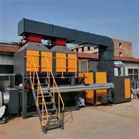 一万风量催化燃烧设备工作原理及厂家价格
