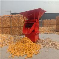 玉米剥皮机 铲车上料玉米脱皮机