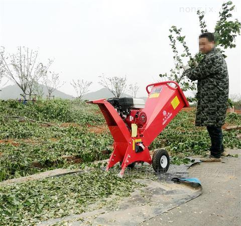 立式树枝粉碎机