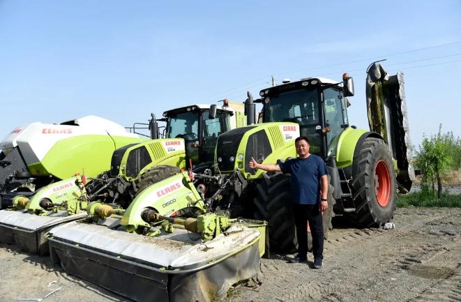 【科乐收CLAAS】看看用户怎么说:魏垂如—草业发展离不开先进的设备,CLAAS是我的首选