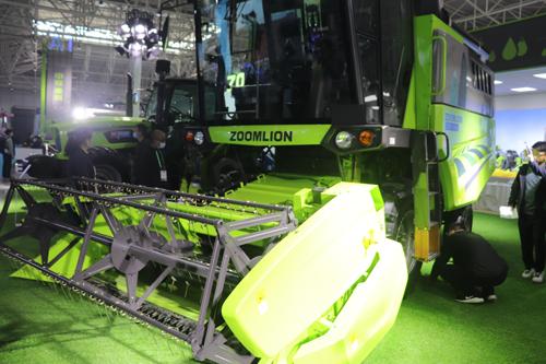 中联智能农机精彩亮相全国农机装备高质量发展现场推进会